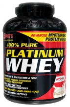 100% Pure Platinum Whey 2270г. (SAN)
