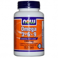 Omega-3-6-9 1000мг. 100капс. (NOW)