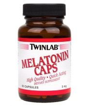 Melatonin 3 mg 60капс. (Twinlab)
