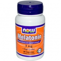 Melatonin 3 mg 60капс. (NOW)