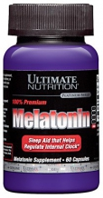 Melatonin 3 mg 60капс. (Ultimate Nutrition)