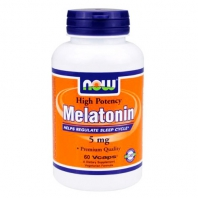 Melatonin 5 mg 60капс. (NOW)