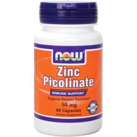 Zinc Picolinate 50mg 60капс. (NOW)
