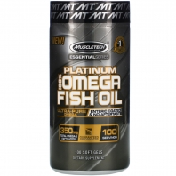 PLATINUM 100% OMEGA FISH OIL 100 капс (Muscle Tech)