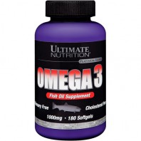 Omega-3 180капс. (Ultimate Nutrition)